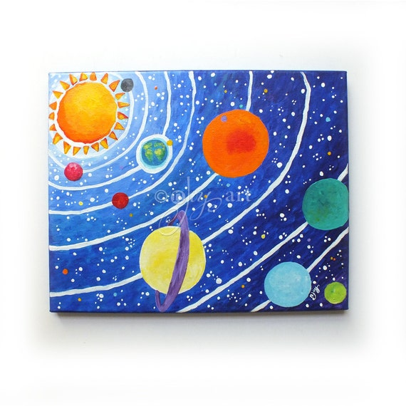 solar system nursery theme - photo #19
