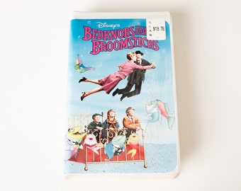 Walt Disney's Bedknobs and Broomsticks VHS Factory Sealed, Vintage 90s