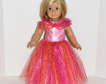 American Girl Doll Clothes -  American Girl Doll Ball Gown