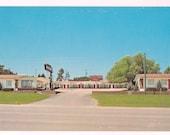 Custer South Dakota Postcard Rocket Motel - Retro Motel Postcard - South Dakota Vintage Postcard - Retro Roadside USA Collectible
