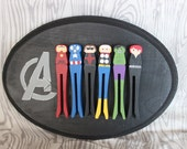 The Avengers Wall Plaque