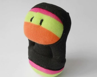 sale, sock creature, sock hoodie, sock monster, cute monster, sock toy, sock doll