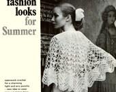 Wedding Poncho Vintage Crochet Pattern PDF 801 from WonkyZebra