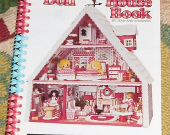 Vintage '75 Doll House Book by Jean & Shannon