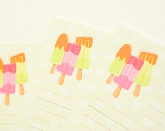 Summer on a Stick - A5 Stationery - 12, 24 or 48 sheets