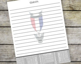 Special Listing - Guest book page - Opportunity
