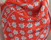 "Blumer Switzerland Beautiful Red So Soft Silk Scarf - 18"" x 62"" Long - Best of the Best"