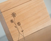 Personalized Recipe Box - Little Daisies