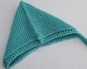 Hand Knit Baby Pixie Bonnet. Newborn - 3 months