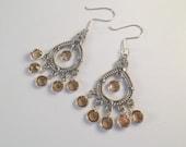 Sparkling Chandelier Earrings