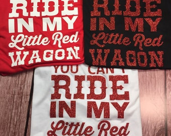 Little Red Wagon Tank Top