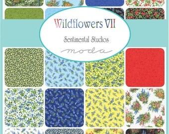 Wildflowers  Moda Quilt Fabric Jelly Roll 40 strips 2.5 x 44