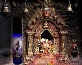 SHANGRI-LA Perfume Oil - Cherry Blossoms, Rice Flower, Champaka Flowers, Eastern Spices, Sandalwood, Lychee