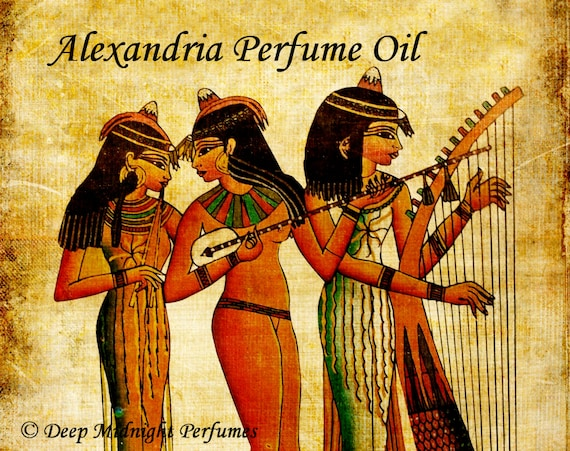 ALEXANDRIA Perfume Oil -  Sweet Resins, Agarwood, Eastern Florals, Honey, Figs - Ancient Perfume