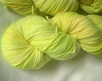 Superwash Merino Nylon Sport - Penelope Sport - Lemon Twist
