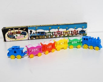 Vintage Birthday Circus Animal Train Candle Holder