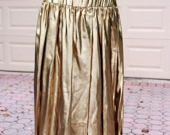 Golden Gal Metallic Skirt