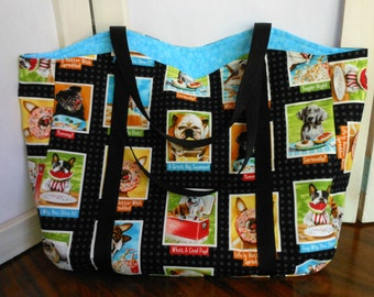 Tote Bag Dogs Photos