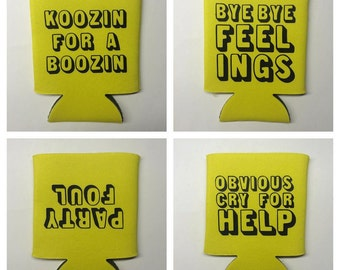 Cynical Can Coolers (Buy 3, Get One Free!)