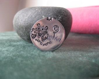 Golf Ball Marker - Hand Stamped - Gopher - Aluminum Discs - Golfers Gift - Tournament Favor - Golf Outing Gift - Fun golf gift