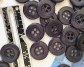 50 Navy Blue Buttons Blue Buttons Dark Blue Buttons Bulk Blue Buttons Craft Buttons Sewing Buttons valstreasures destash fasteners