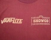 Vintage Original Genesis 70's Showco Rare Peter Gabriel concert tour Phil Collins Progressive Rock T Shirt S