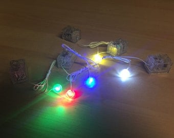1pcs 1x1 LED light up for Lego part - Star Wars gun - (please let us know which color you want)