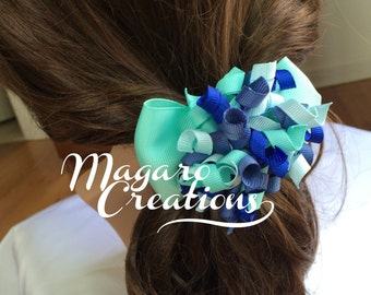 Ponytail holder,girl ponytail holder,pigtail holder,girl hair elastic,hair accessories,hair bow ponytail,bow ponytail holder.