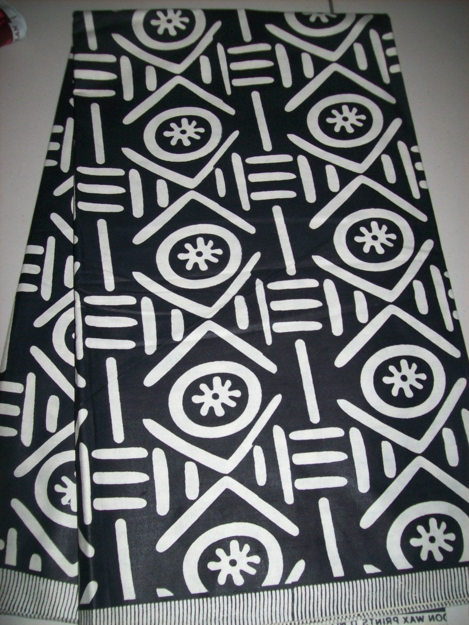 Tribal Ethnic Print Fabric From Mali Africa Per Yard African