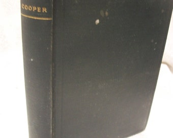 The Spy By James Fenimore Cooper 1900 HB