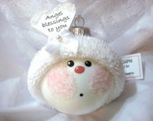 Angel Ornament Gift Christmas Townsend Custom Gifts Angel Blessings to You - F