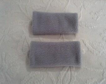 Light Gray walker hand grip covers