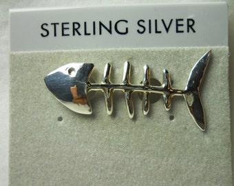 Fish Bone Hat Pin