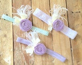 Lavender headband sale