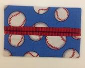 Baseball Fabric Tissue Holder