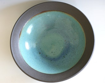 Handmade Ceramic Platter, pottery platter, wheel thrown, stoneware, ceramics and pottery, ceramics by Kazem Arshi