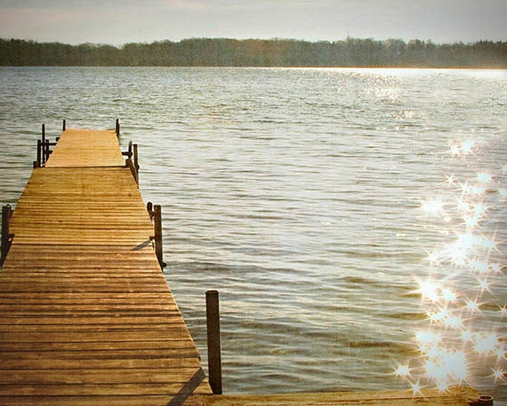 Art, Photography, Lake Magic , 8x10 Inch Fine Art Print, Coastal, Photography Print, Sparkling Sunshine , Photo to Frame