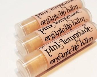 Carina Dolci Apothecary Pink Lemonade Organic Natural Creamy Lip Balm