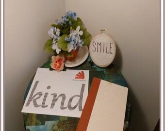 Handmade Pattern - Supplies - Folded Book Art Pattern Kit - DIY