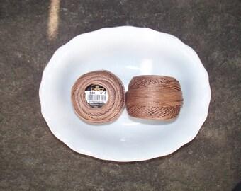 DMC Perle Cotton 8 Browns