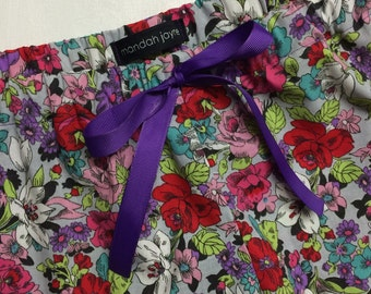 Romantic Floral - Womens Mini Sleep Shorts