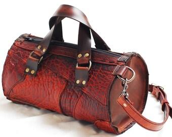 Medicing bag, Leather handbag,  Valentine gift, leather purse, small leather handbag purse, clutch, ipad, DSLR camera bag - Handmade in USA