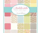 AMBLESIDE - Fat Quarter Bundle - Brenda Riddle Design for Moda Fabrics - 40 FQs