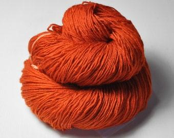 Red-hot metal - BFL Sock Yarn Superwash