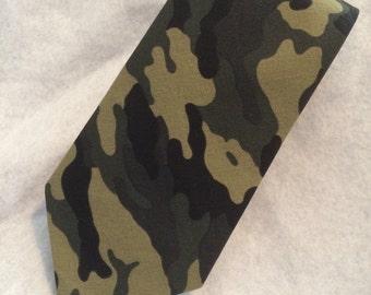 Men's Neck Tie Woodsy Camo
