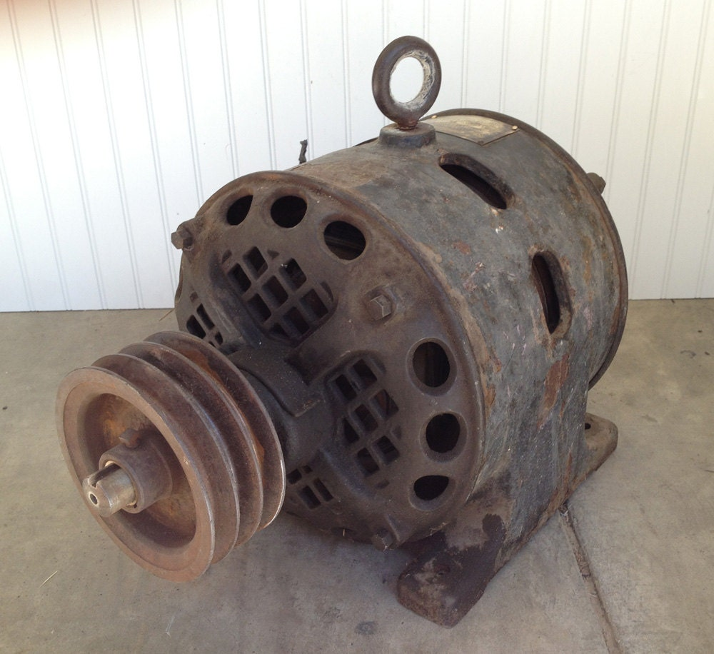Antique Century Single Phase Motor 2 Hp Century Electric Co