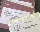 Bachelorette Party Game- Purple Pearl and Silver Diamond-Bacholrette Party Favor