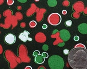Christmas disney Mickey and Minny mouse Limited time offer green colour 100cm x 40cm