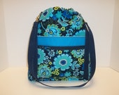 Sale!  Anyway Anywhere Large Bag in Blue Floral