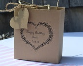 Custom Wedding/Birthday favor bags/Welcome bags